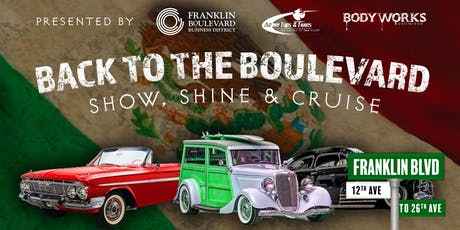 Back to the Boulevard - Show, Shine & Cruise tickets