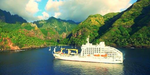 Deluxe Tahiti Freighter Cruise & Tahitian Expedition Cruise Seminar