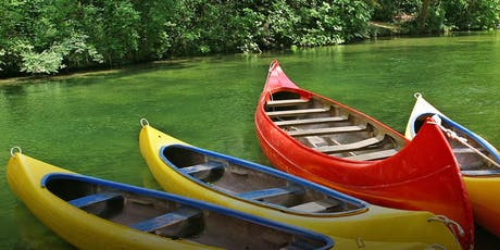 DET Master guides canoe camp tickets