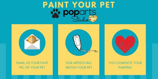 KIDS EVENT DIY**PYOP Paint Your Own Pet - Customized Painting Experience