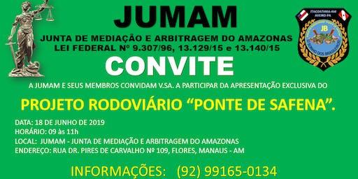 """Projeto Rodoviário """"PONTE DE SAFENA"""""""