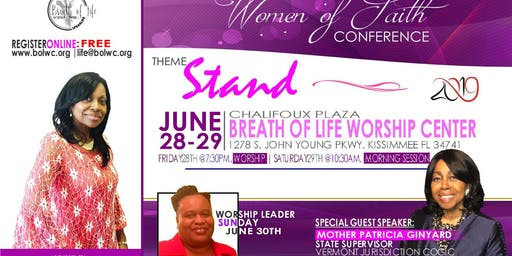 Women of Faith Conference 2019