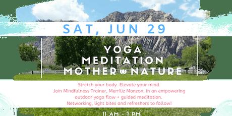Women's Outdoor Yoga & Meditation Mixer! tickets