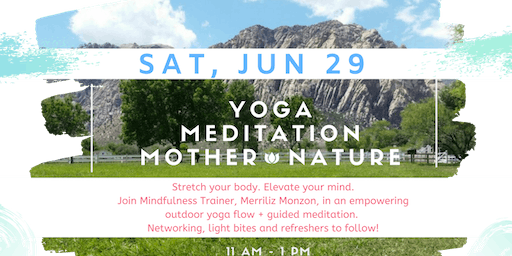 Women's Outdoor Yoga & Meditation Mixer!