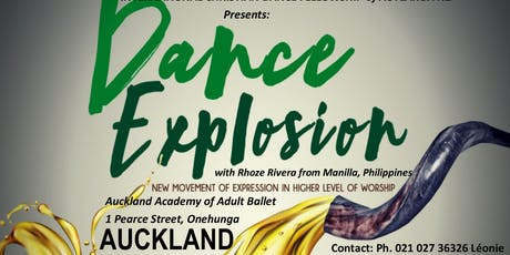 Dance Explosion Auckland  tickets