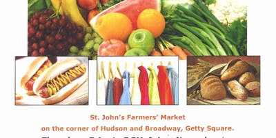 Come To St. John's Farmer's And Flea Market from 07/11/19-11/21/19