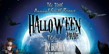 34th Annual Bronx Halloween Parade 2019 tickets