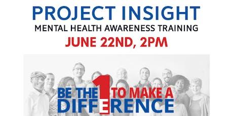 Mental Health Awareness Training tickets