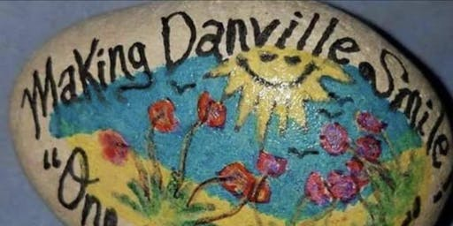 Rock Painting: Making Danville Smile