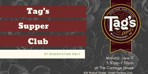 Tag's Supper Club, June 2019