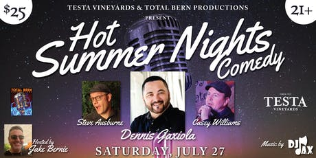 Hot Summer Nights Comedy at Testa tickets