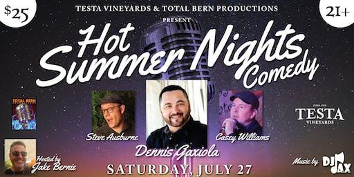 Hot Summer Nights Comedy at Testa