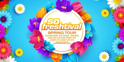 SO FRESHTIVAL PERTH #2: 2000s Day Party! Saturday 5th October
