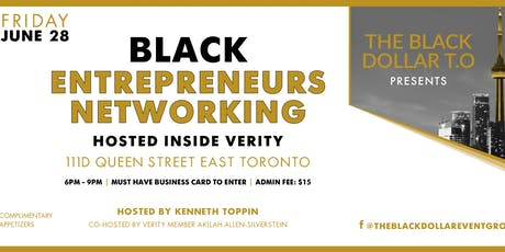 BLACK ENTREPRENEURS NETWORKING tickets