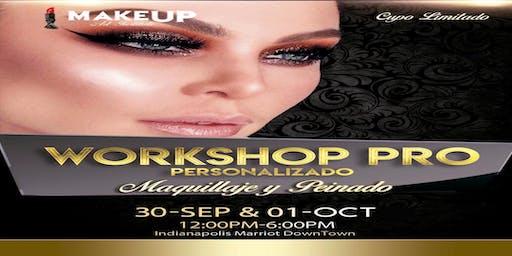 Workshop pro maquillaje y peinado Indianápolis