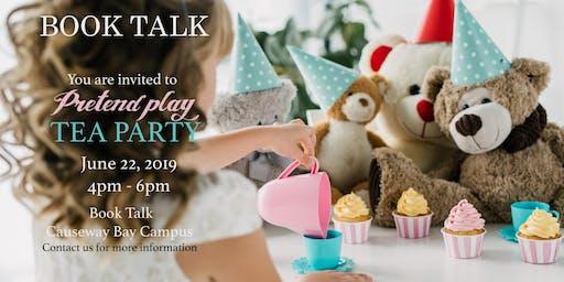 Book Talk Tea Party with teddy bear ( CWB)