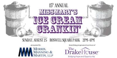 15th Annual Miss Mary's Ice Cream Crankin'
