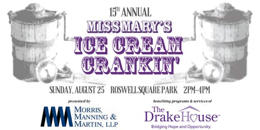 15th Annual Miss Mary's Ice Cream Crankin'