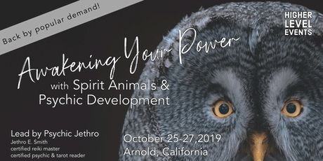 Awakening Your Power with Spirit Animals & Psychic Development (October) tickets