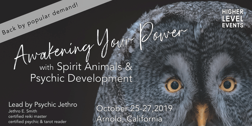 Awakening Your Power with Spirit Animals & Psychic Development (October)