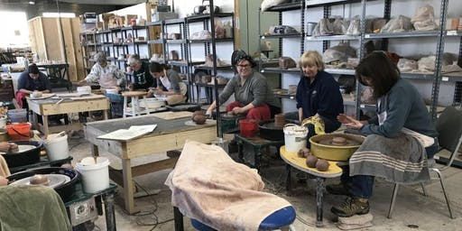 Beginning/ Intermediate Thursday Hand Building with Megan Schefter - Fall 2019 Class