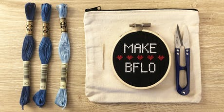 Intro to Embroidery tickets
