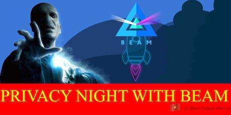 1st Beam Vietnam Meet-up - Privacy Night With Beam  tickets