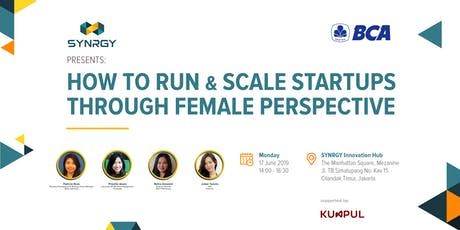 How to Run & Scale Startup Through Female Perspective tickets