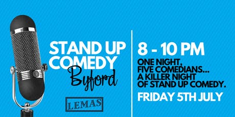 Byford Stand Up Comedy tickets