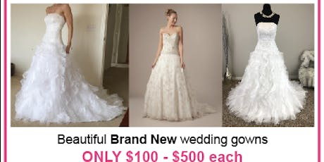Monique Luo Wedding Dress Clearance! tickets