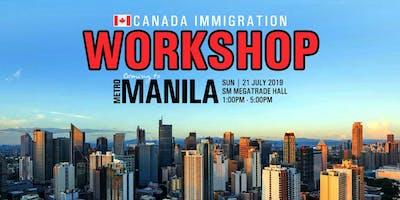 Canada Immigration Workshop - METRO MANILA