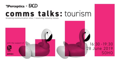 Comms Talks: Tourism tickets