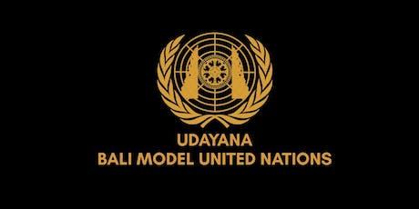 Udayana Bali Model United Nations 2019 tickets