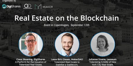Real Estate on the Blockchain tickets