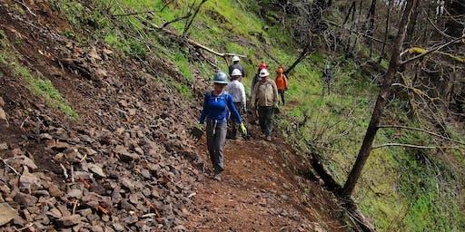 Lower Eagle Creek Trail Treadwork #1 (June 27)