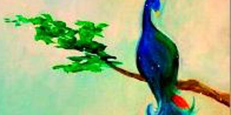 Kid's Camp Peacock Feathers Thurs July 25th 10am-Noon $25 tickets