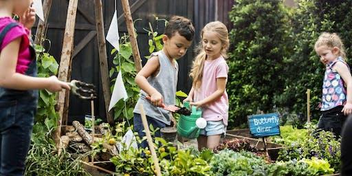 Kids 4-8 Years Kitchen-garden Cooking Class