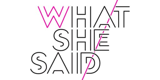 What She Said with Emily & Meritt