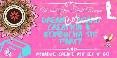 Dream Box Creation & Kombucha Sip Party - San Diego