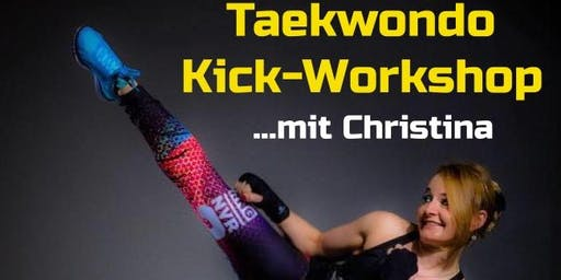 Taekwondo Kick-Workshop mit Christina