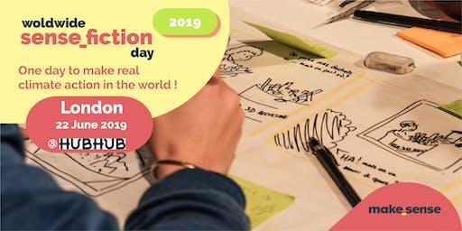 Worldwide Sensefiction Day London: Climate Action! By Makesense UK
