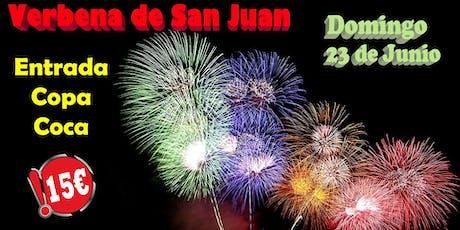 Verbena de San Juan en Tilos entradas