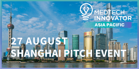 MedTech Innovator Asia Pacific - Shanghai Pitch Event tickets