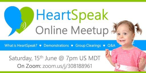 HeartSpeak Meetup: What is HeartSpeak all about?