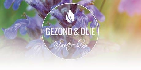 6 november Stress en slaap - Gezond & Olie Masterclass - Utrecht tickets