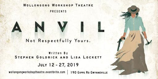 ANVIL - Sat 27th July