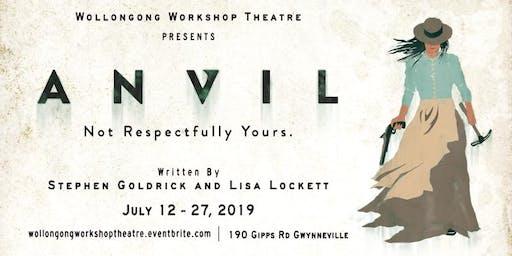 ANVIL - Sat 13th July