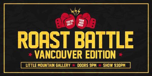 Roast Battle Vancouver: NO STREET JOKES