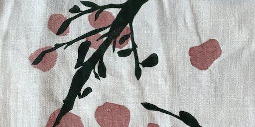 KentCLOTH Seasonal Summer Natural Dye and Print Workshop