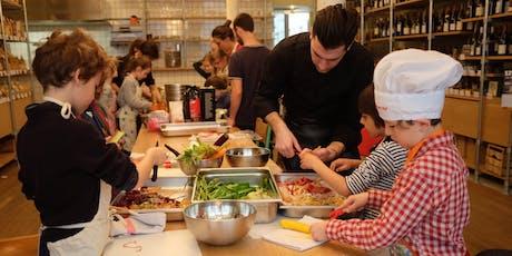 Atelier de cuisine pour enfants : tartelettes de légumes billets